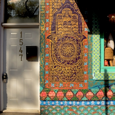 wall art, middle east design, shop window, colours, colors